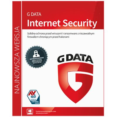 G Data Internet Security 3PC / 1rok na Arena.pl