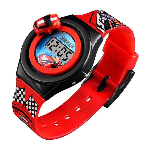 eb270d78fe822a Dziecięcy zegarek 5 kolorów AUTO elektroniczny na pasku super prezent  zdjęcie 3