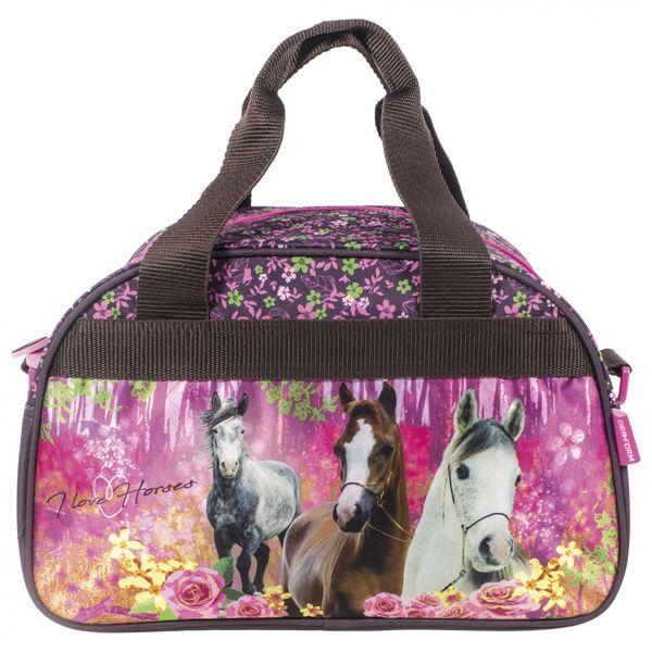 2c973b6822e2a Tornister szkolny ergonomiczny I LOVE HORSES Konie (TEMBKO15SET6CZ) zdjęcie  9
