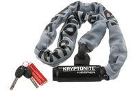 Zamknięcie KRYPTONITE KEEPER 785 INTEGRATED CHAIN 85cm łańcuch z kłódką szare