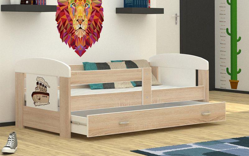 Łóżko FILIP 160x80 materac + szuflada zdjęcie 4