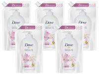 Zestaw 5 x Dove Glowing Ritual mydło w płynie zapas 500 ml