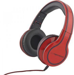 EH136R Słuchawki Audio Blues czerwone Esperanza