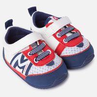 Sportowe buty dla chłopca z eko skóry 11,5cm czer.