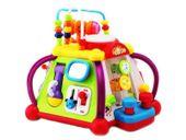 Kostka interaktywna Centrum Zabaw zabawka na roczek 6W1