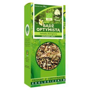 Herbatka BĄDŹ OPTYMISTĄ EKO Ziołowa - 50g