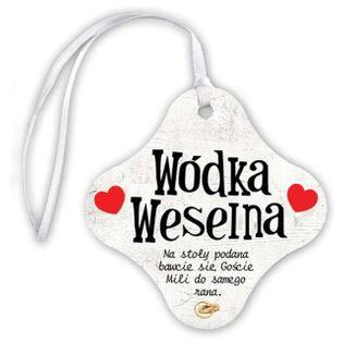 "Zawieszka na butelkę, ""Wódka Weselna"", 20 szt"