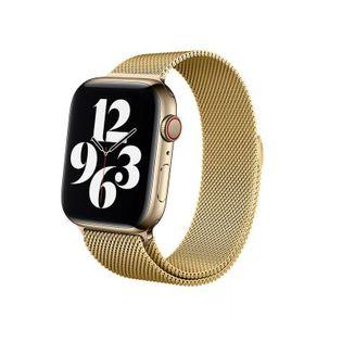 Pasek ze stali nierdzewnej Crong do Apple Watch 42/44 mm