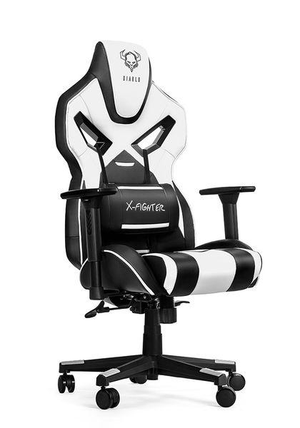 Fotel obrotowy gamingowy kubełkowy gracza DIABLO X-FIGHTER ORYGINALNY na Arena.pl