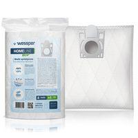 Antyalergiczne syntetyczne worki Wessper WES1015 HomeLine Eco 4 szt