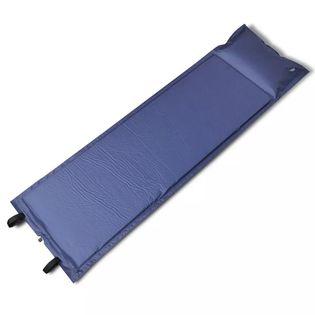 Niebieska, Samopompująca Się Mata, 185 X 55 X 5 Cm (Pojedyńcza)