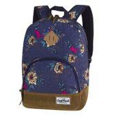 Plecak młodzieżowy CoolPack Classic Blue Denim Flowers