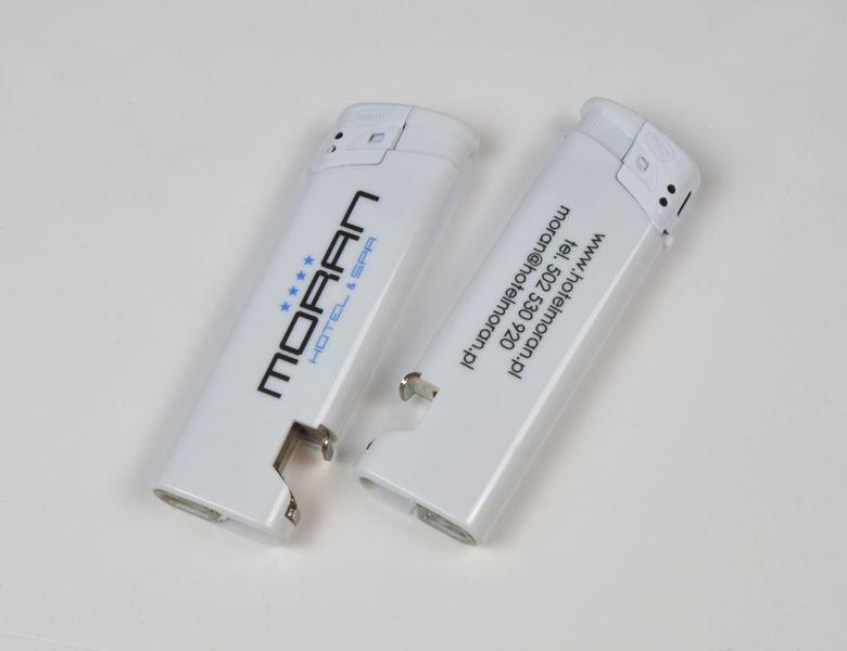 zapalniczka z otwieraczem reklamowa firmowa z nadrukiem UV 100 szt zdjęcie 6
