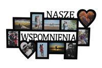 Multirama ramka na zdjęcia z napisem Nasze Wspomnienia 11 zdj