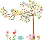 RoomMates naklejki wielokrotnego naklejania Kwitnące drzewo