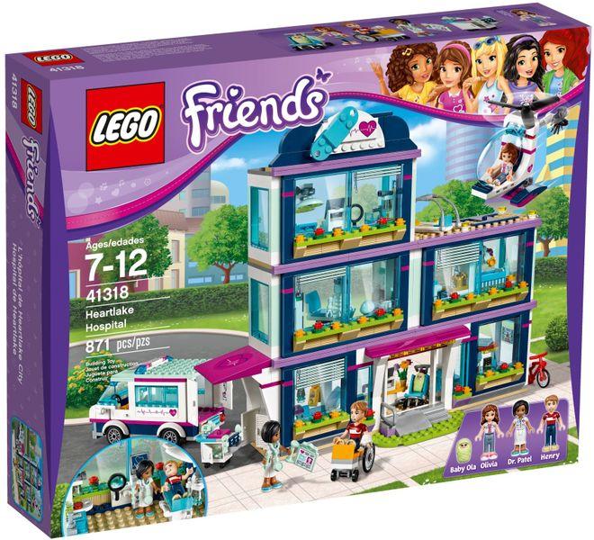 LEGO FRIENDS 41318 Szpital w Heartlake zdjęcie 1