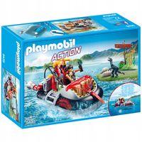 Playmobil Action Poduszkowiec z silnikiem