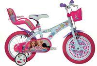 Włoski rower rowerek dla dziewczynki Barbie rower Barbie 16 cali
