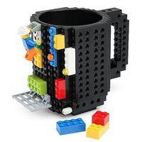 KUBEK KLOCKI LEGO CZARNY IDEALNY NA PREZENT HIT