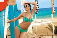 Kostium Kąpielowy Juliana Maladive M-311 Zielony (95) Rozmiar Xl/xxl