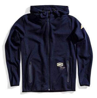 Bluza męska 100% VICEROY Hooded Zip Tech Fleece Navy roz. L