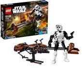 Klocki LEGO 75532 Star Wars Zwiadowca i Śmigacz