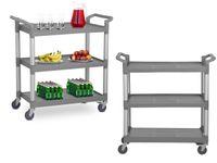 Wózek kelnerski - 3 półki - 180 kg Royal Catering RCSW 3P