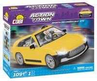 KLOCKI COBI Action Town Sportowe Cabrio GTS 109 - 1804 Nowy zestaw ! komp. z LEG