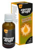Krople Pożądania Hot Ero Energy Drops Taurin & Guarana 30 Ml