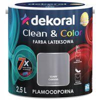 Dekoral Clean & Color 2,5L SZARY CANVAS