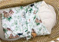 Rożek z tkaniny 100% bawełnianej premium z minky