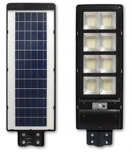 Mocna uliczna lampa LED solarna pilot 360W c.ruchu