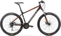 """Rower Romet Rambler R7.2 27 L 19"""" czarno-pomarańczowy 12"""