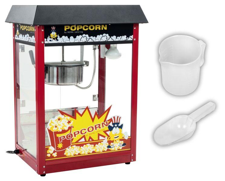 Maszyna do popcornu - czarny daszek Royal Catering RCPS-16E zdjęcie 2