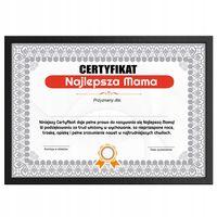 Certyfikat PREZENT dla MAMY, Urodziny, Dzień Matki