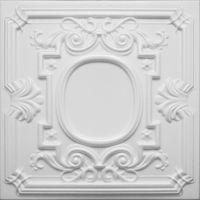 Kasetony sufitowe białe, piankowe 3D D-35