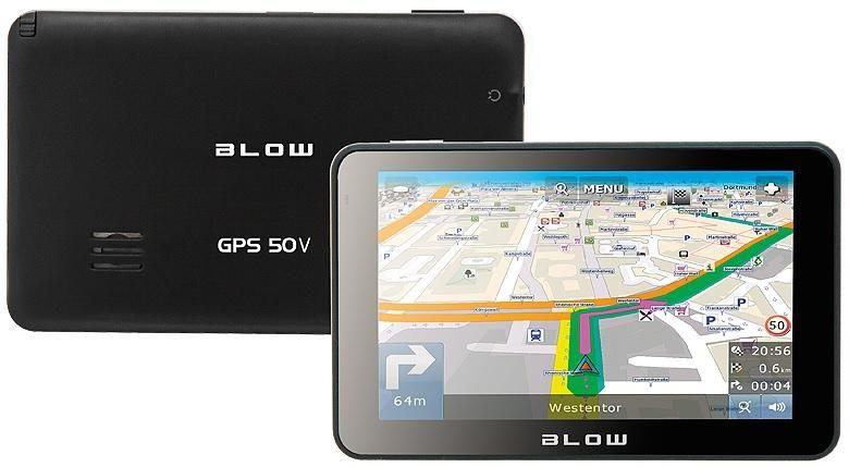 """Nawigacja GPS 5"""" mapa Europa Blow GPS50V zdjęcie 2"""