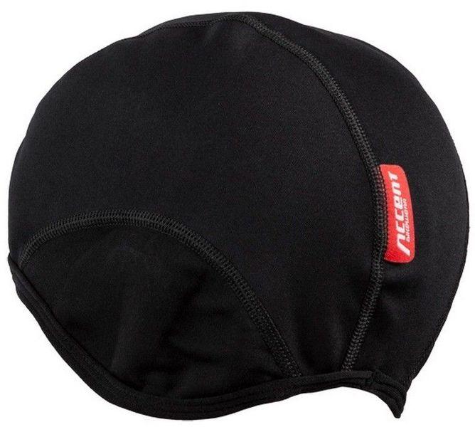 Czapka kolarska Softshell czarna - r. L/XL zdjęcie 4