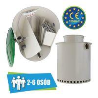 Przydomowa oczyszczalnia ścieków VH6 LIGHT 2-6 osób + studnia chłonna