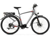"""Trans Hybrid M 3.0 L(21"""") grafitowo-czerony mat rower elektryczny"""
