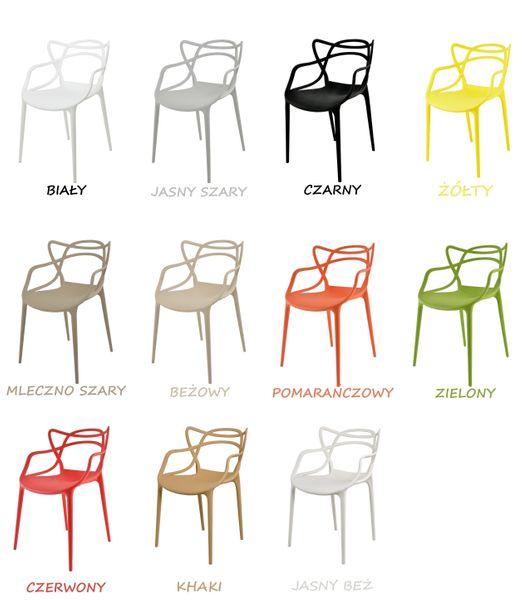 Krzesło Dankor Design Masters czarny wzmacniany zdjęcie 8