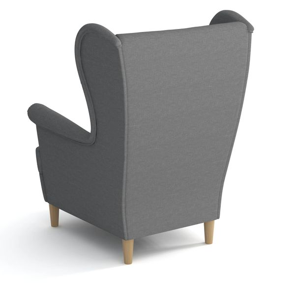 Fotel uszak w stylu skandynawskim BIRD Öron zdjęcie 6