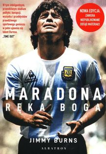 Maradona Ręka Boga Burns Jimmy