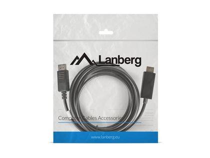 LANBERG Kabel DisplayPort - HDMI M/M 3M czarny