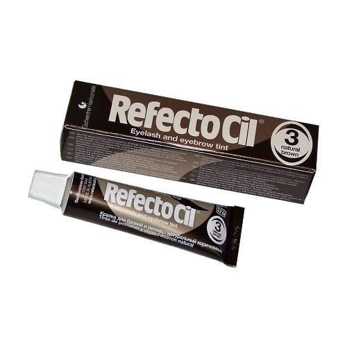 Henna żelowa brązowa 15ml RefectoCil zdjęcie 1