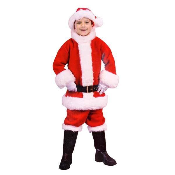 Strój Mikołajek 8-10 lat - przebrania dla dzieci zdjęcie 1