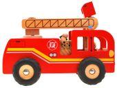 WIELKA Straż Pożarna wóz strażacki DREWNO ZA1809 zdjęcie 5