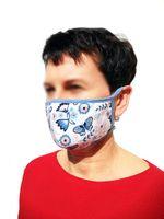 Dwuwarstwowa maseczka ochronna na twarz