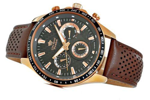 Zegarek Męski Gino Rossi Stalowy Premium S523A-1B1 na Arena.pl