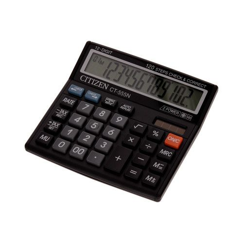Kalkulator biurowy 12pozycyjny CT555 Citizen - profesjonalny zdjęcie 1